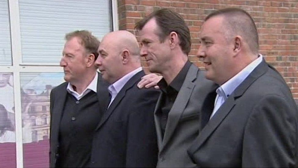 The Derry Four in 1998