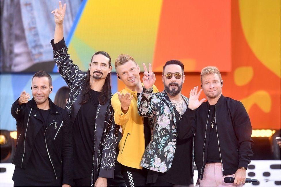 Backstreet Boys Perform On ABC's Good Morning America, July 2018