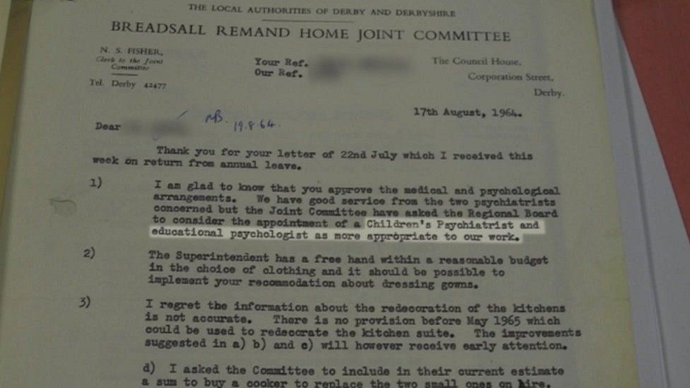 Report on Breadsall Home