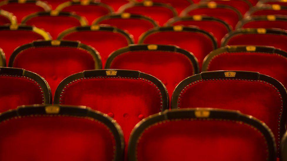 An empty auditorium