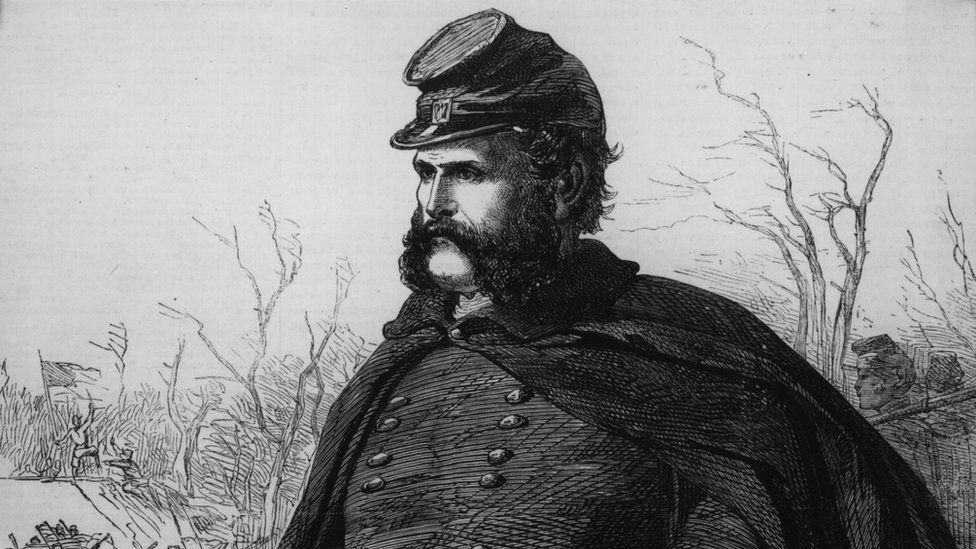 Gen Ambrose Burnside