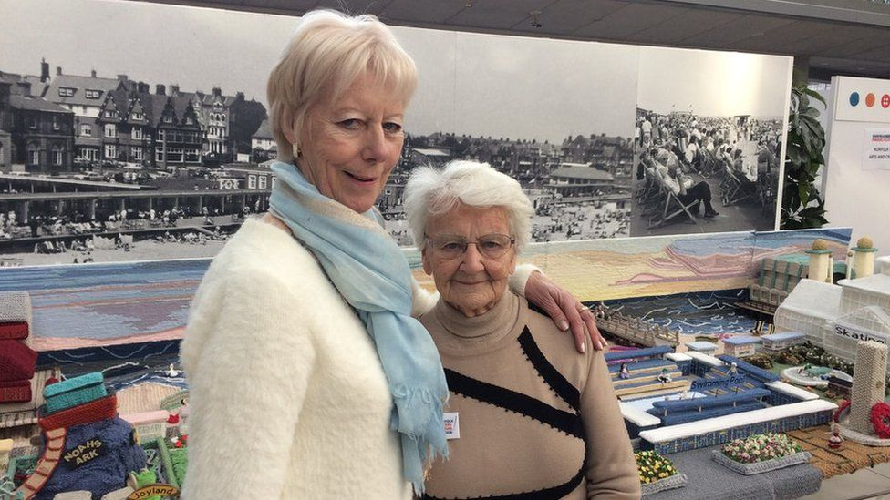 Tricia Wilson with her mother Margaret Seaman