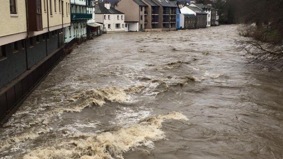 River Greta in Keswick