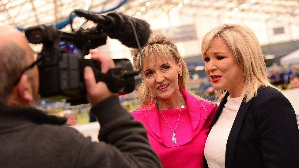 Martina Anderson and Michelle O'Neill