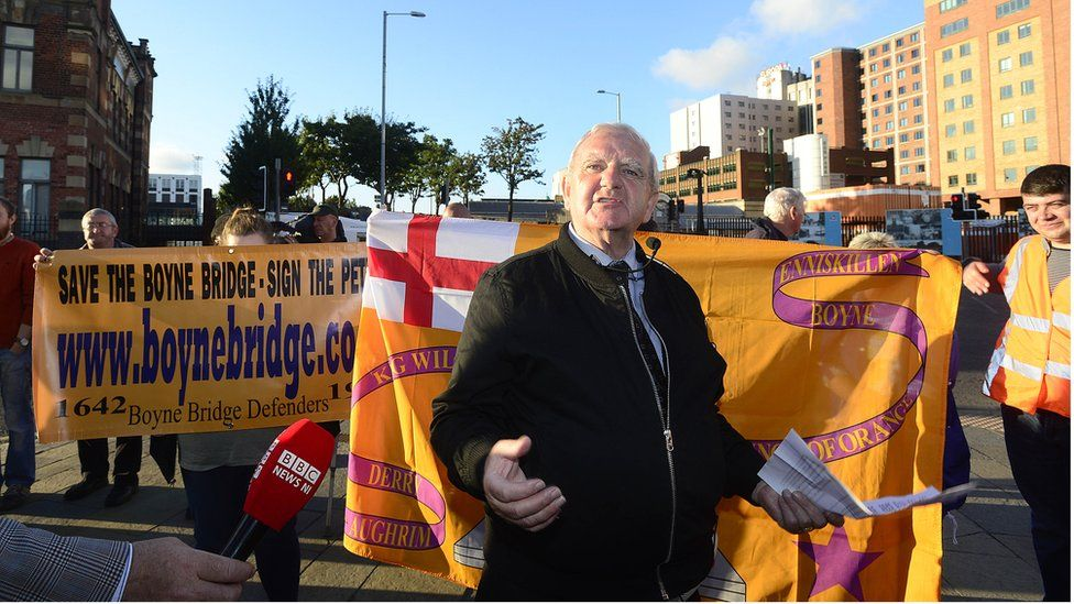 Mr Dixon complained that his neighbours in Sandy Row had not been consulted