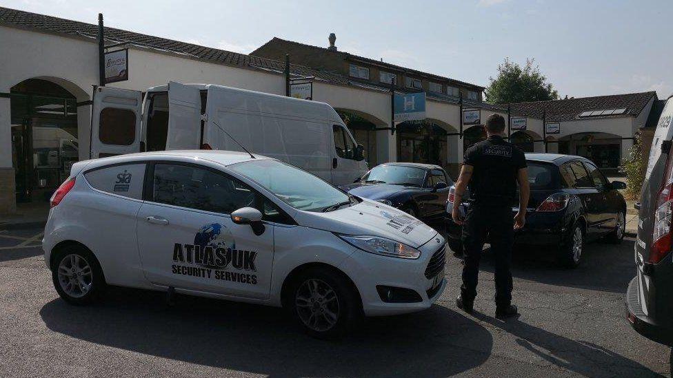 Atlas staff in Martock