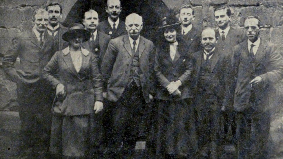 Alice Arnold (left) pictured with Coventry's Labour group and fellow councillor Ellen Hughes