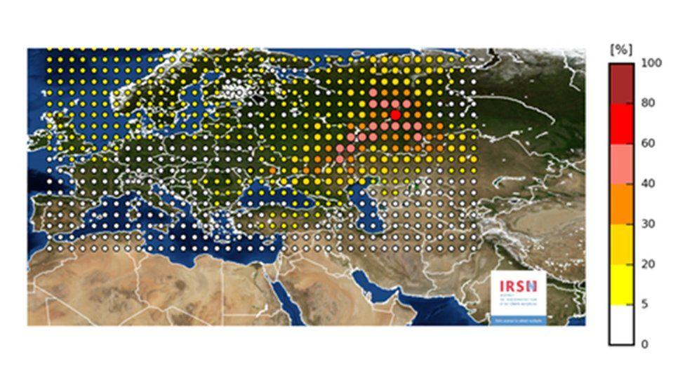 A misteriosa nuvem radioativa que cobriu a Europa por mais de 15 dias