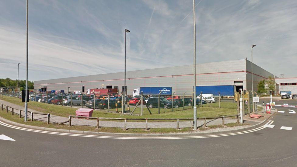 Wilko distribution centre in Worksop