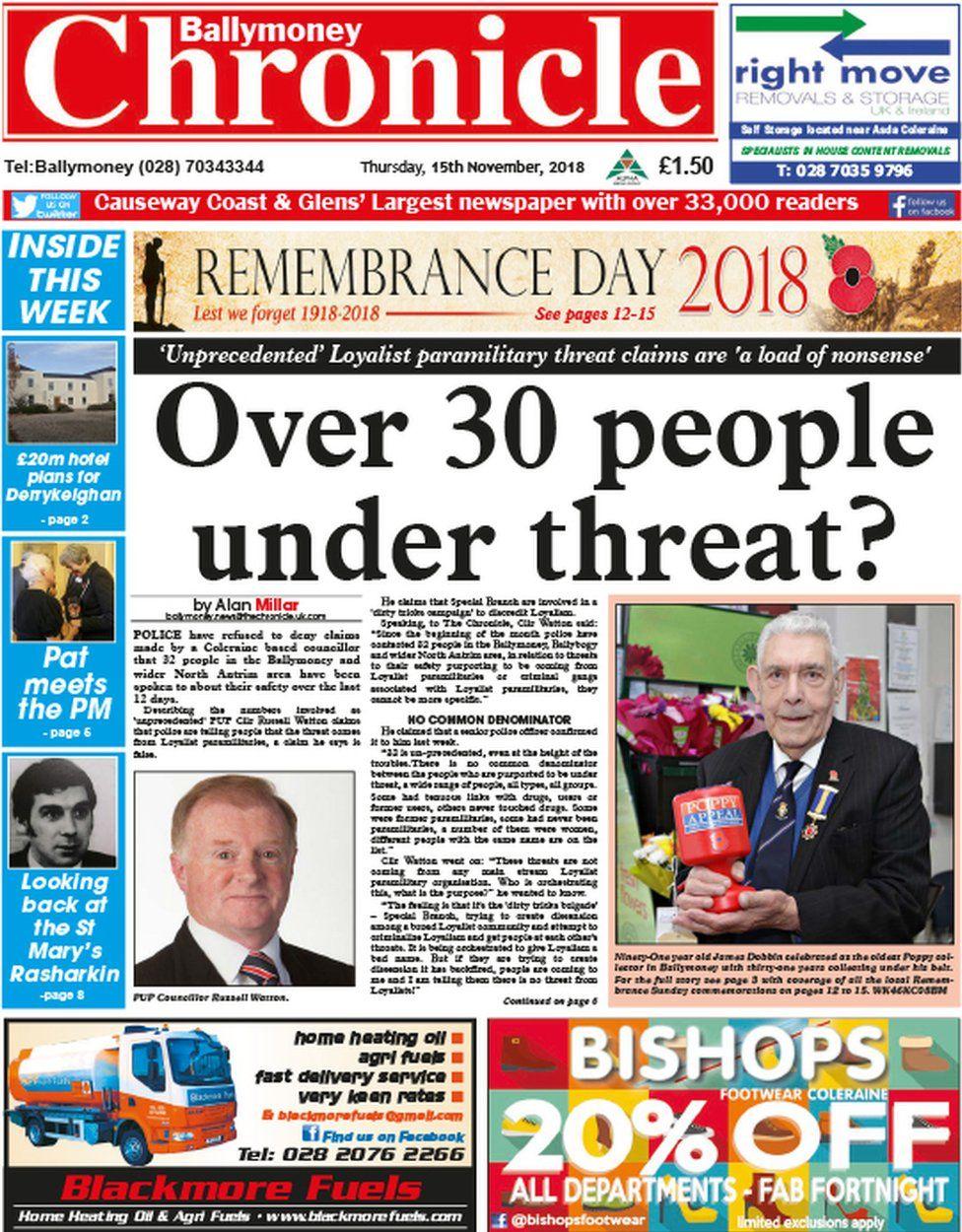 Ballymoney Chronicle