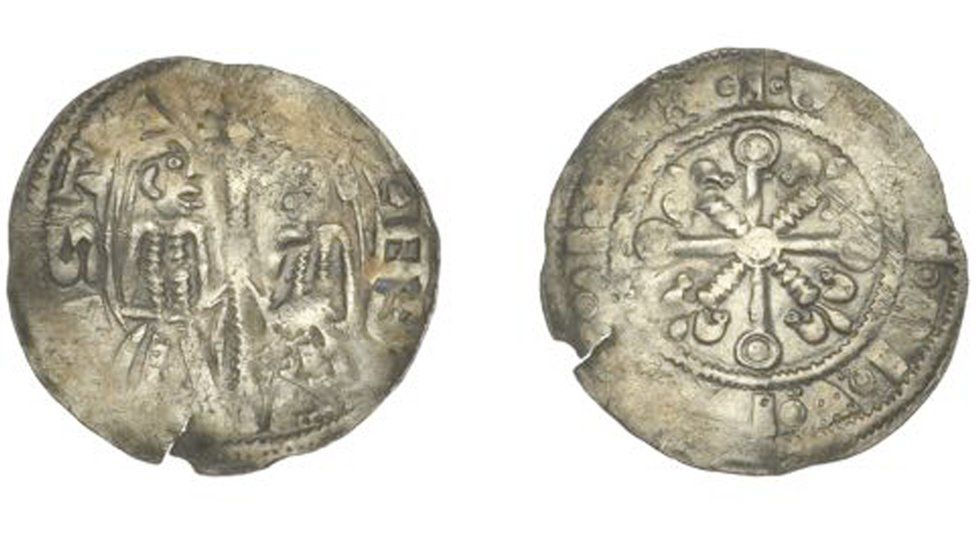 12th Century coin