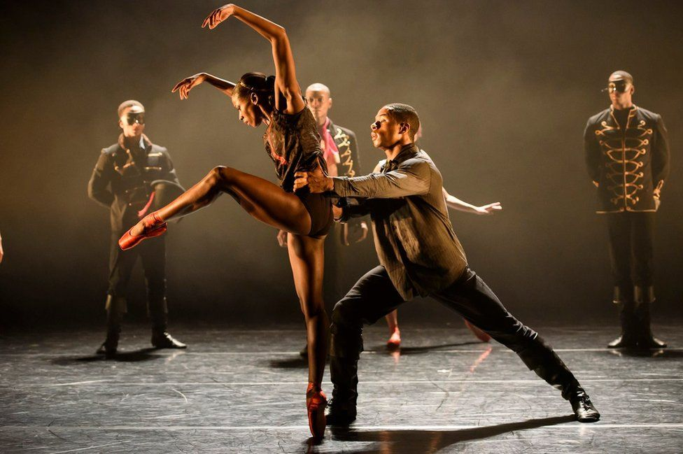 Ballet Black performing Second Coming in 2015