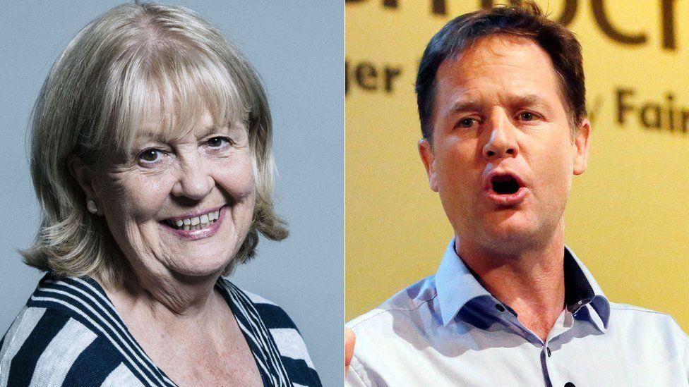 Cheryl Gillan, Nick Clegg