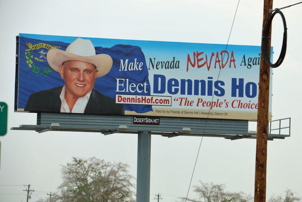 Hof campaign poster