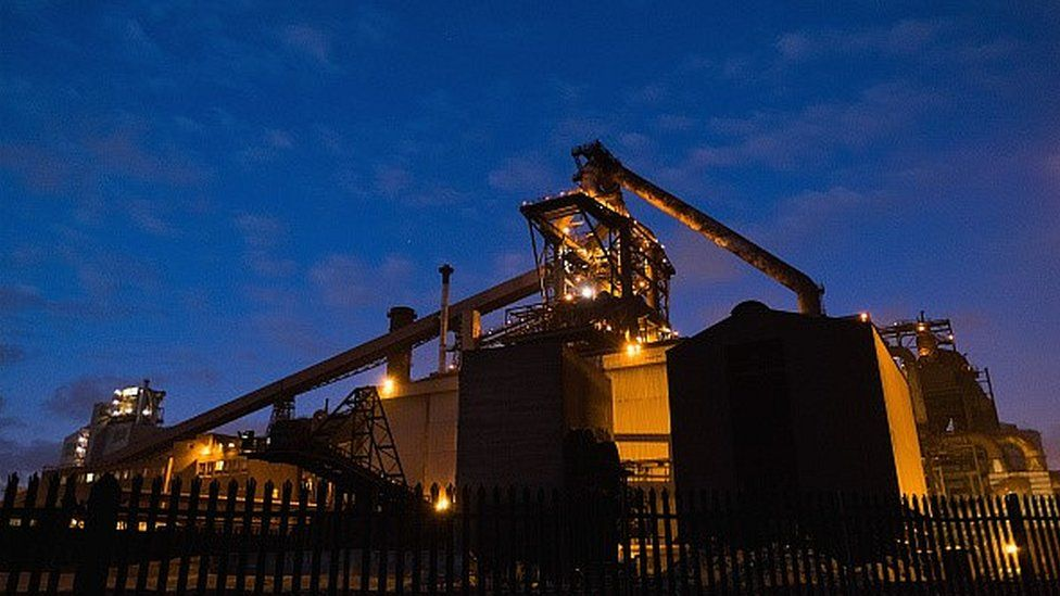 SSI steel plant