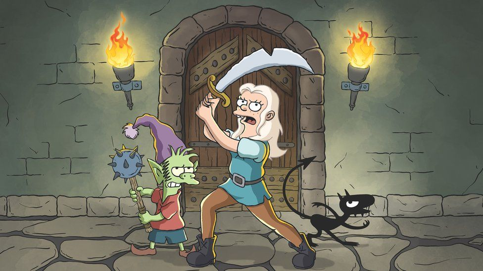 A still from Disenchantment