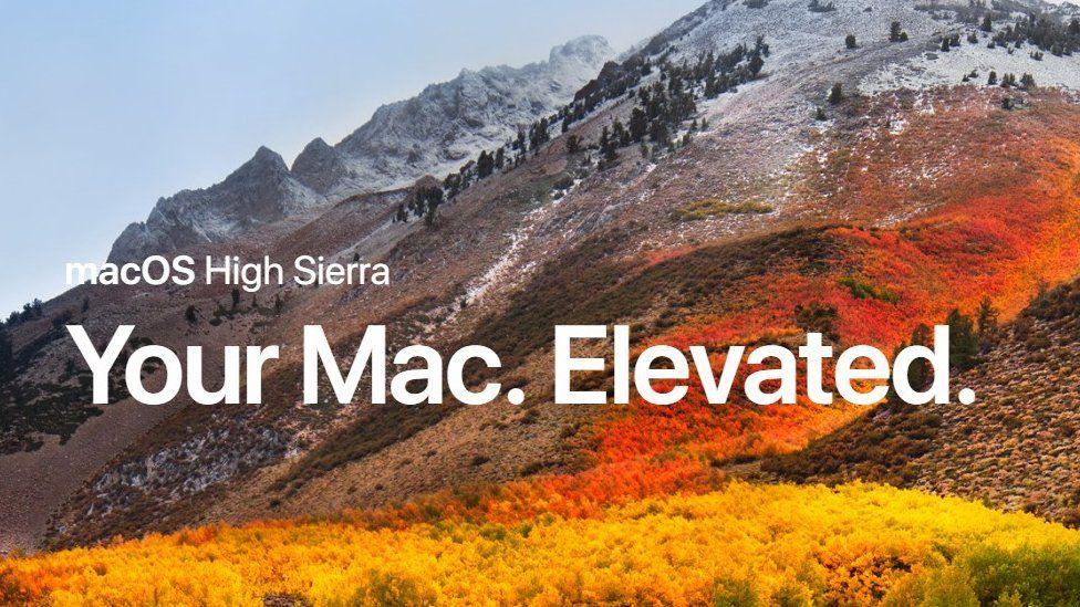 Apple's High Sierra