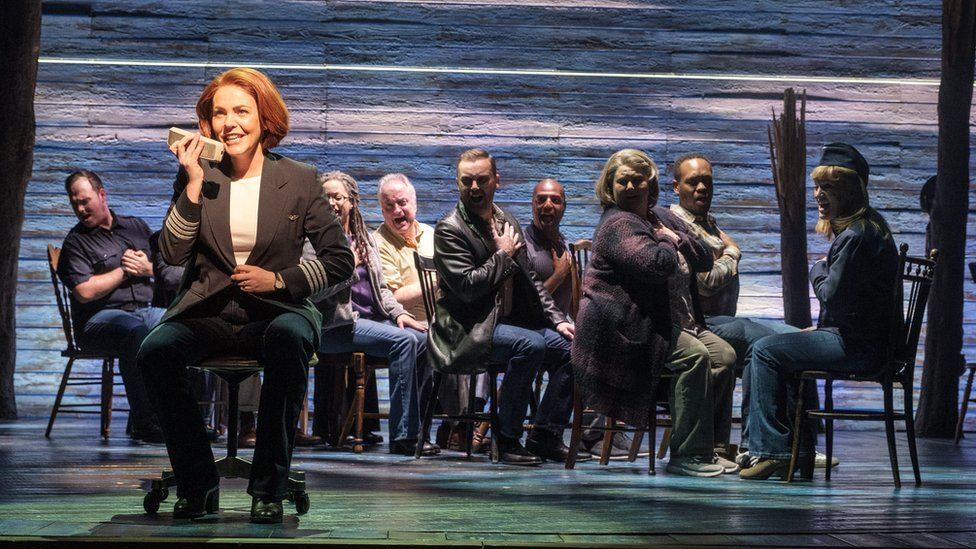 Scene from Come From Away