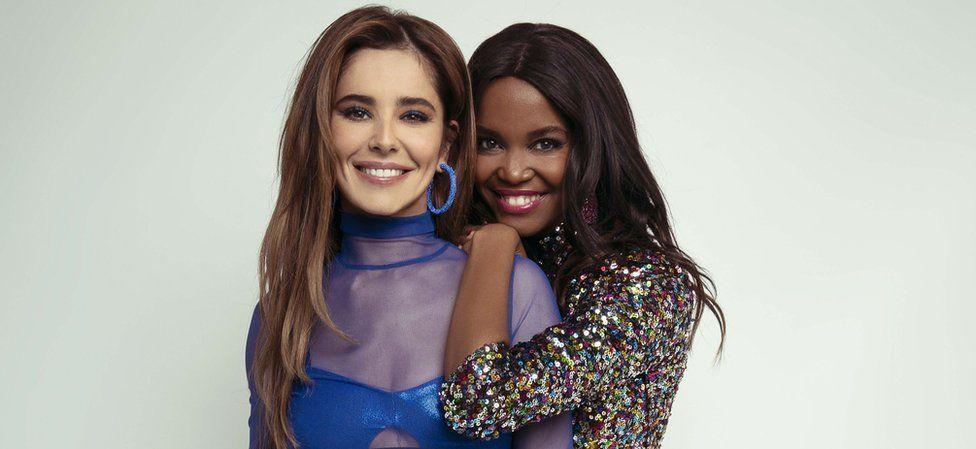 Cheryl and Oti Mabuse