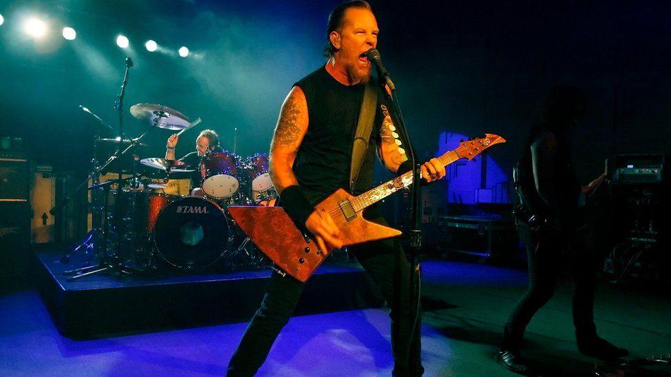 Metallica gig