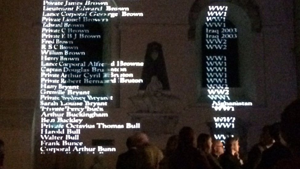 St Albans Cathedral display
