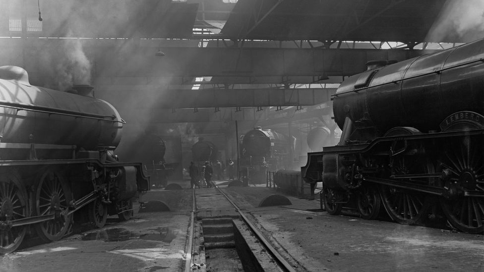 York engine shed (now the National Railway Museum's Great Hall)