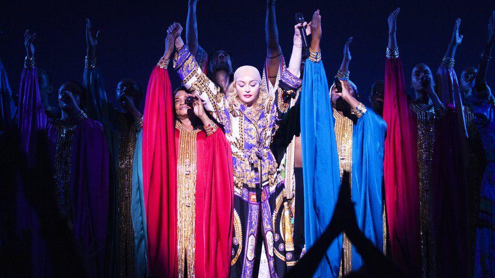 Madonna's show