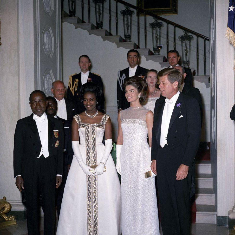 President Kennedy hosting a state dinner