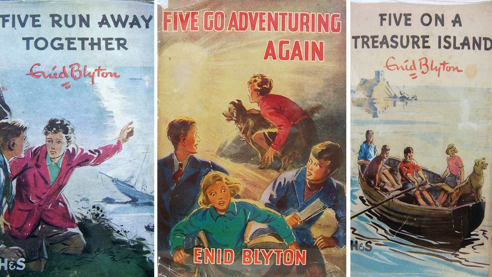 Illustrations of the Famous Five books