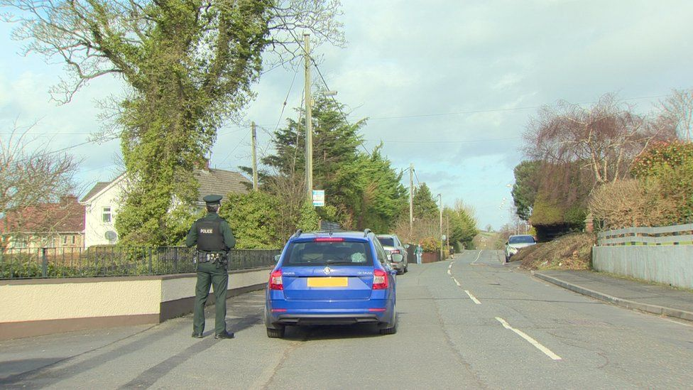 A number of families had to leave their homes during the operation on Ashgrove Road