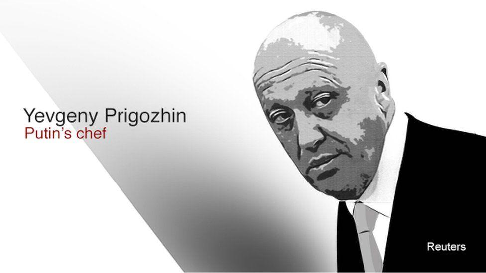 Yevgeny Prigozhin - Putin's chef