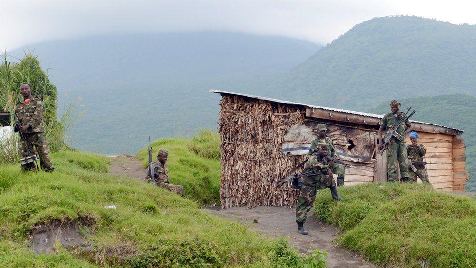 Rwandan-backed M23 rebels in eastern DR Congo - 2013