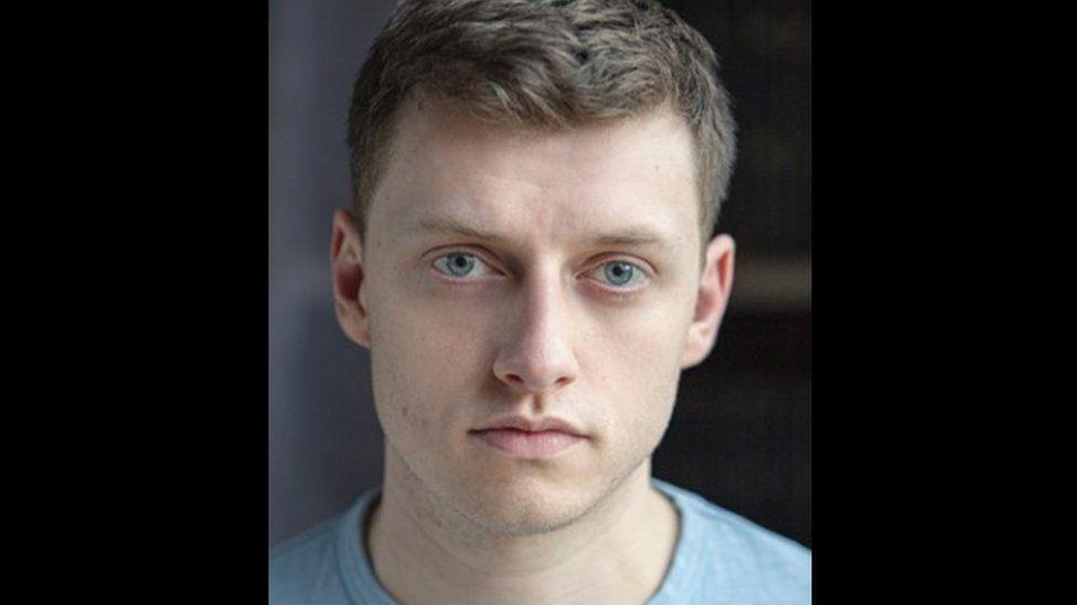 Luke MacGregor who plays Blake