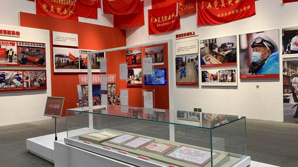 Wuhan's outbreak exhibition