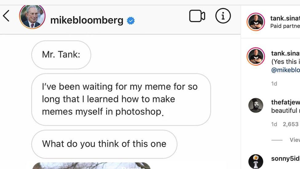 Bloomberg instrgram post