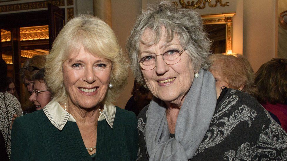 The Duchess of Cornwall and Germaine Greer