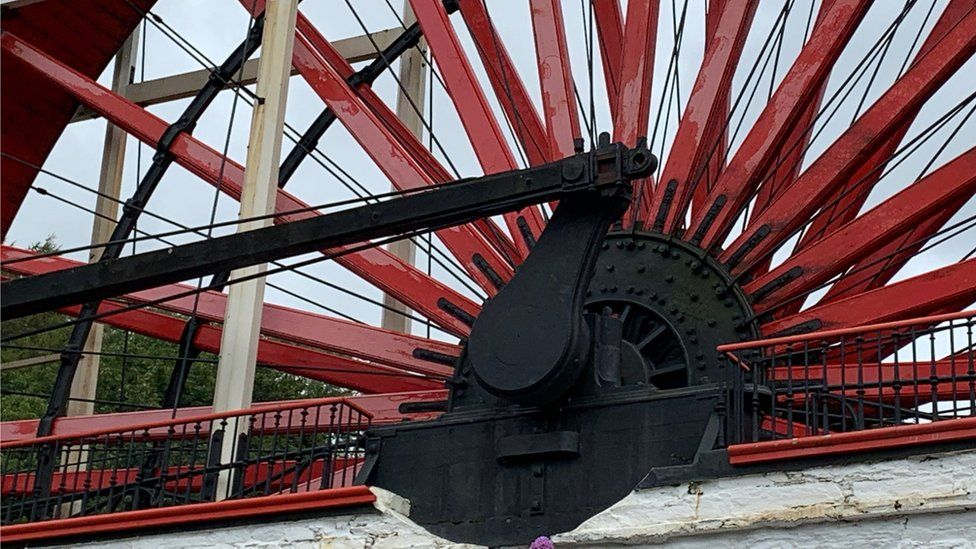 Laxey Wheel mechanism