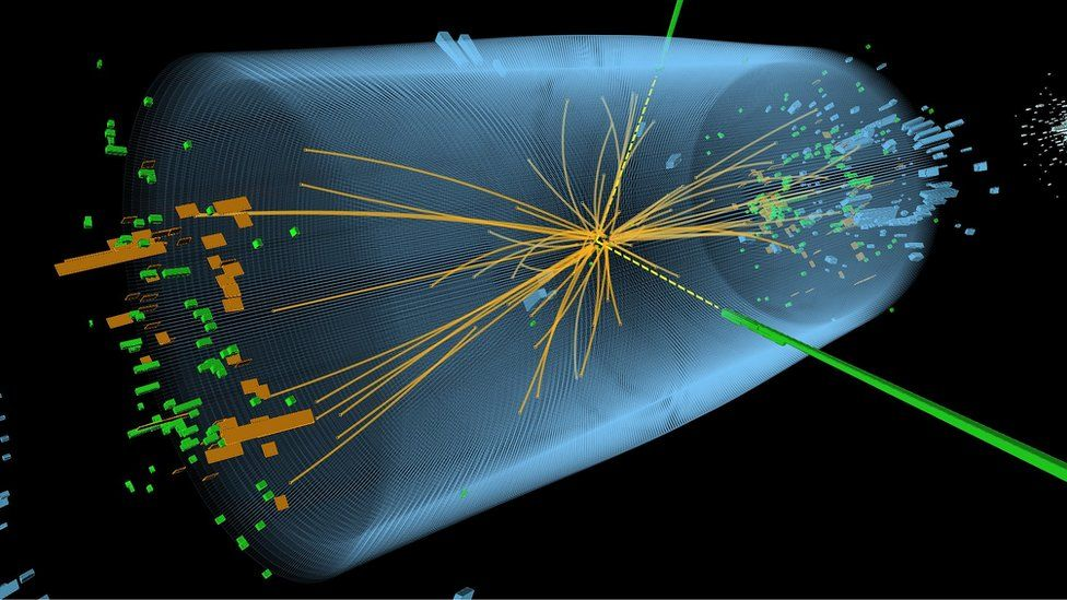 Higgs event at CMS