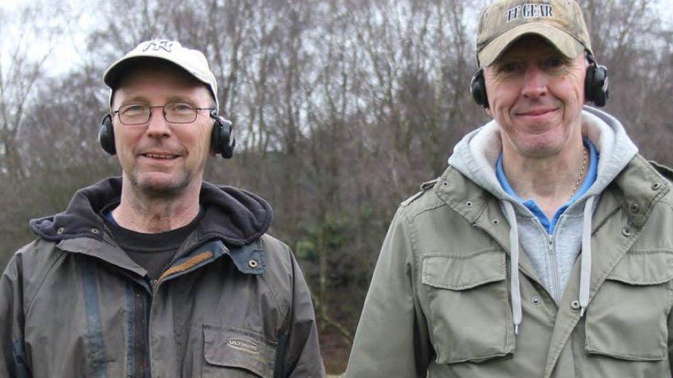 Joe Kania (left) and Mark Hambleton