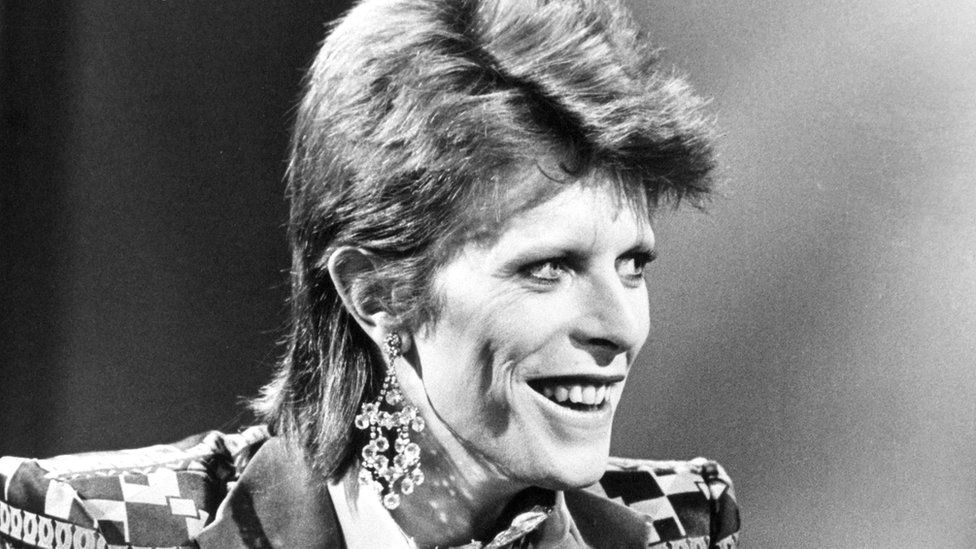 File photo dated 01/01/74 of David Bowie,