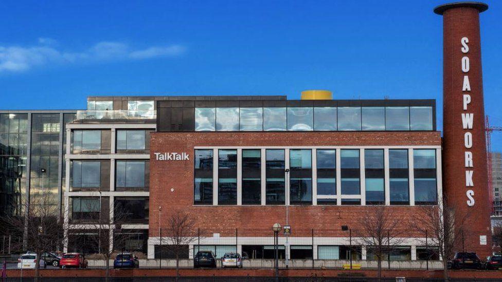 TalkTalk office in Salford