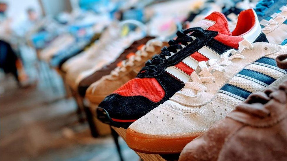 Sheffield trainer festival: Rare vintage shoes on show