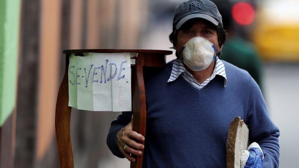 Coronavirus en Ecuador | El inédito y cuestionado plan de emergencia  económica del país contra la crisis del covid-19 - BBC News Mundo