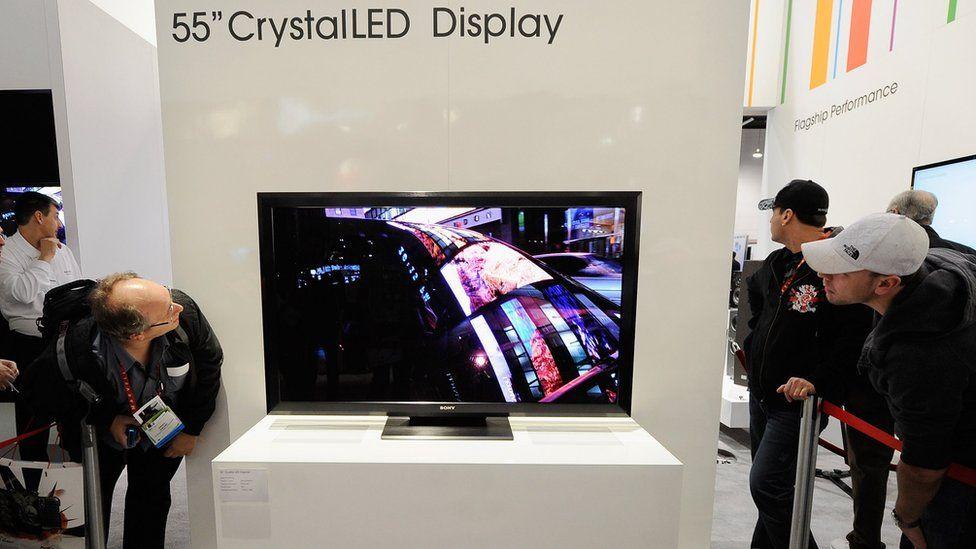 Sony Crystal LED TVs