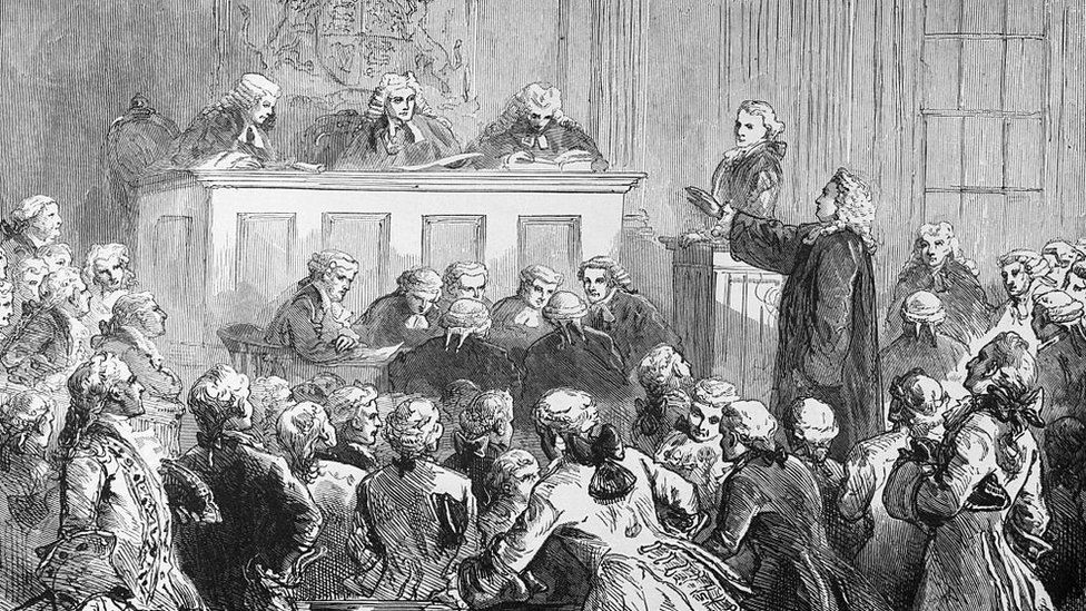 The trial of Peter Zenger