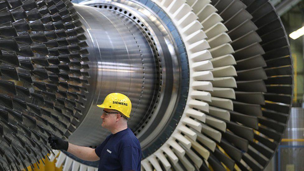 Siemens turbine manufacturing