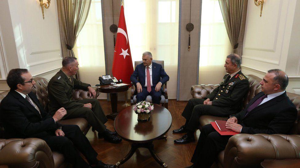 ABD Genelkurmay Başkanı Dunford: Türk yetkililer ABD'yi suçlamadı