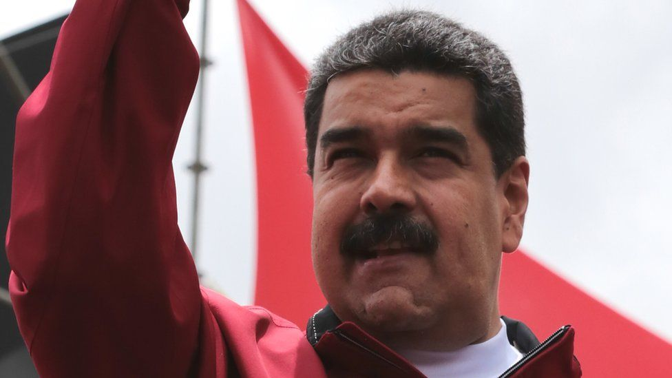 Venezuelan President Nicolas Maduro during a rally in Caracas, 1 September 2016