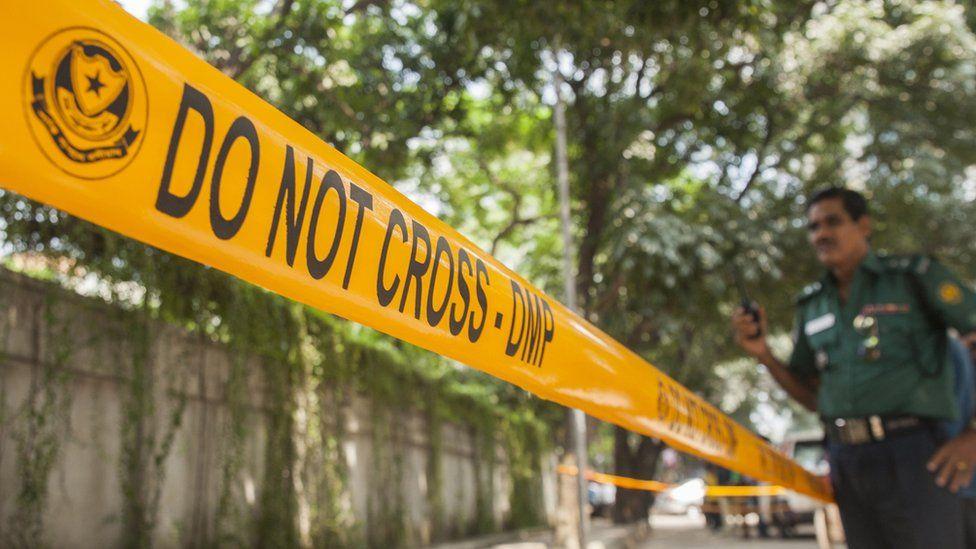 Bangladeshi crime scene