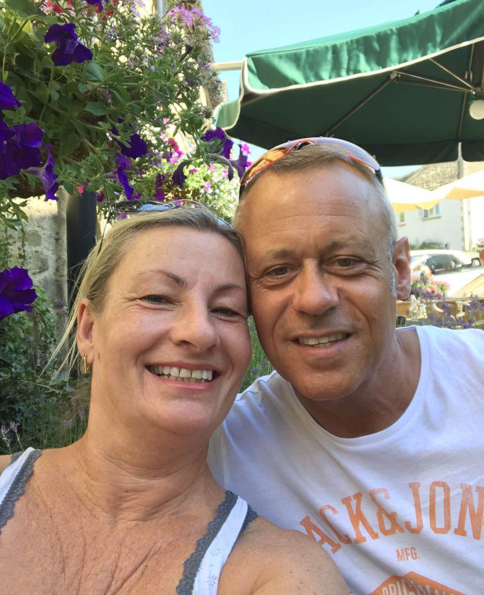 Doug Banks and his wife Jackie
